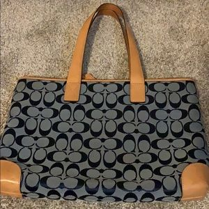 Signature Coach Handbag